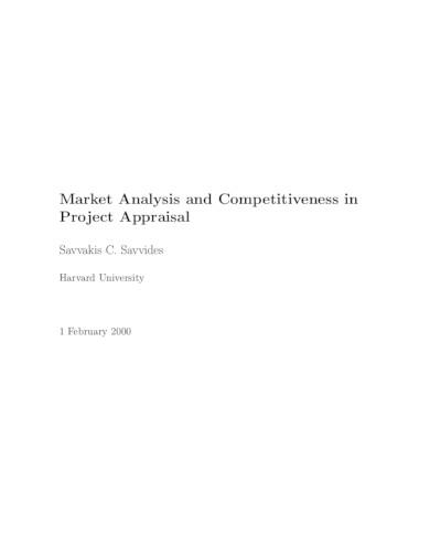 marketing analysis template example
