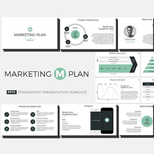 marketing plan powerpoint presentation sample