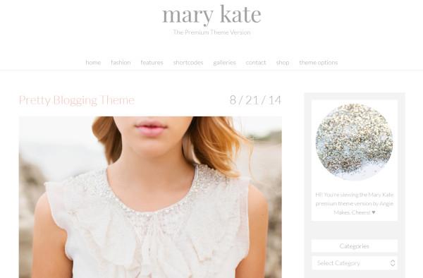 mary kate ad banners wordpress theme
