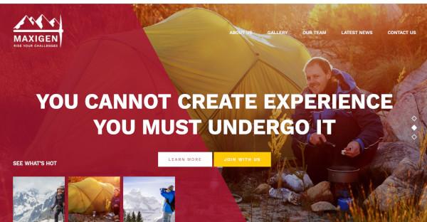 Maxigen – Visual Composer WordPress Theme