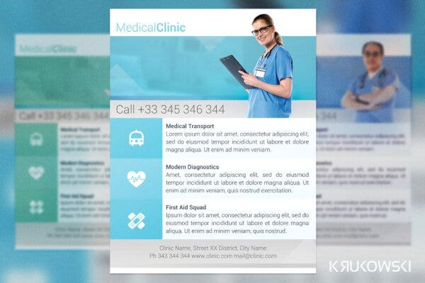 medical clinic poster example