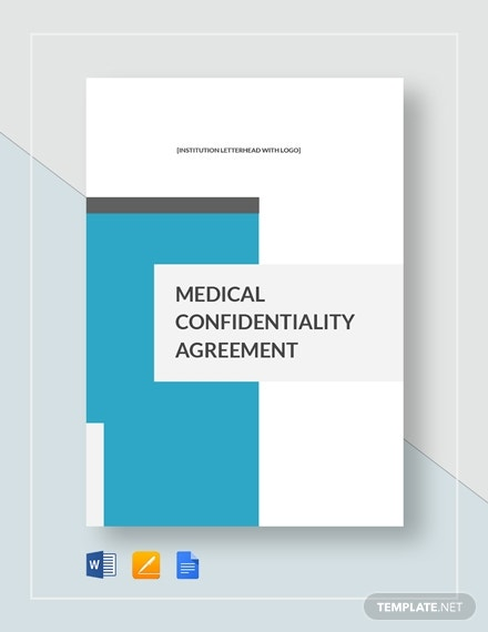 medical confidentiality agreement 2