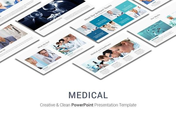 medical marketing powerpoint template