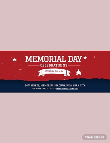 memorial day facebook cover sample