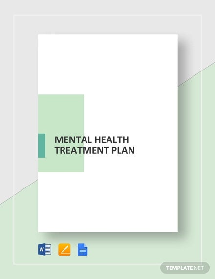 Mental Health Care Plan Template - 9+ Free Sample, Example ...