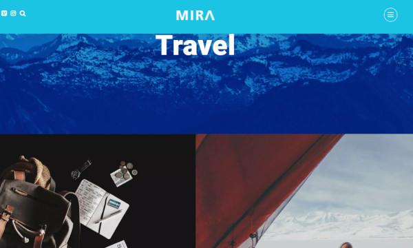 mira custom wordpress theme