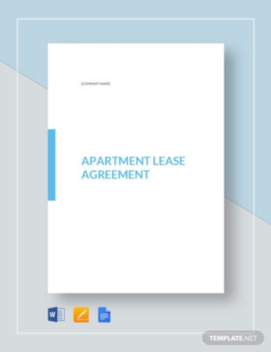 modern apartment tenant agreement template