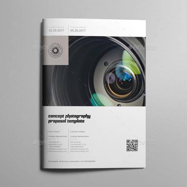 modern concept photography proposal template1