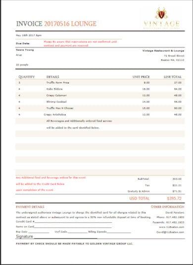 modern invoice template