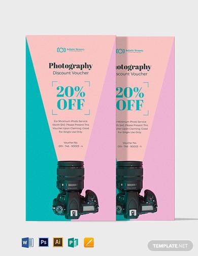 modern photography gift card voucher1