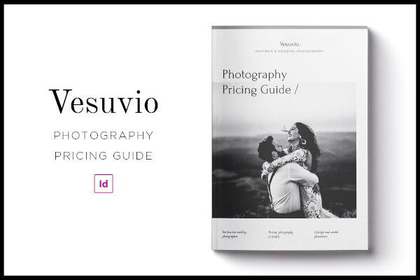 modern photography pricing guide