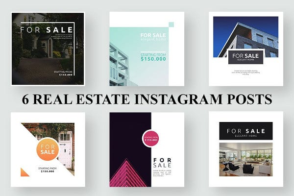 16 Free Real Estate Instagram Templates In Psd Vector Eps Free Premium Templates