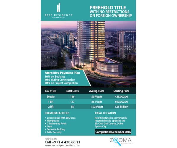 modern real estate listing flyer