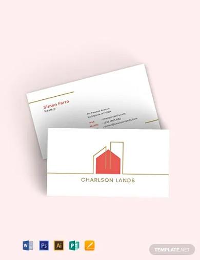 modern realtor business card template1