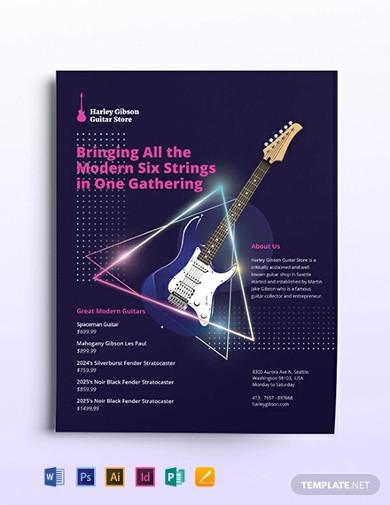 modern small business flyer