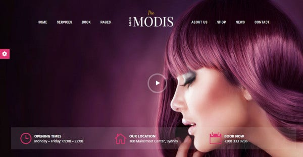 modis wpbakery page builder wordpress theme