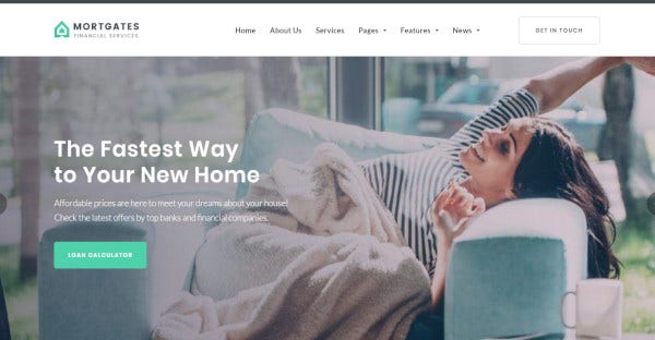 mortgates retina ready wordpress theme