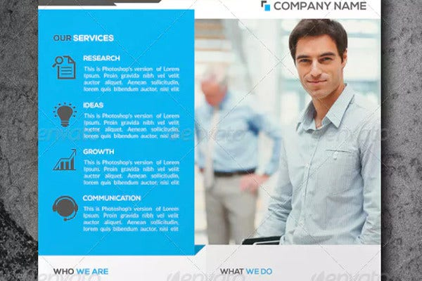 multi purpose small business flyer