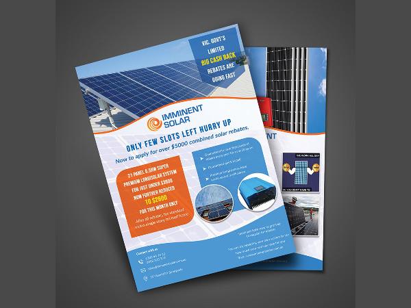 multiple company flyer