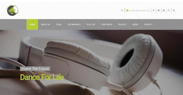music box responsive wordpress online theme