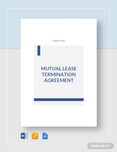 mutual termination tenant agreement template