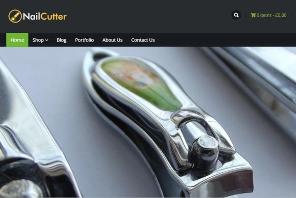 nail cutter – mobile friendly wordpress theme