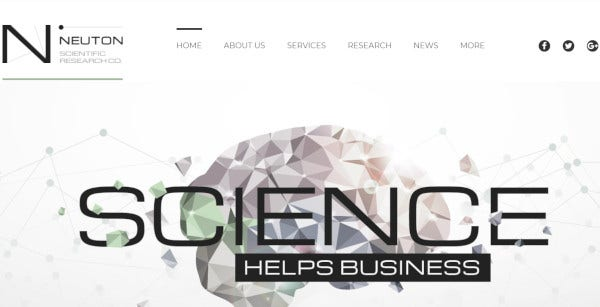 neuton-scientific-research-company-custom-wordpress-theme