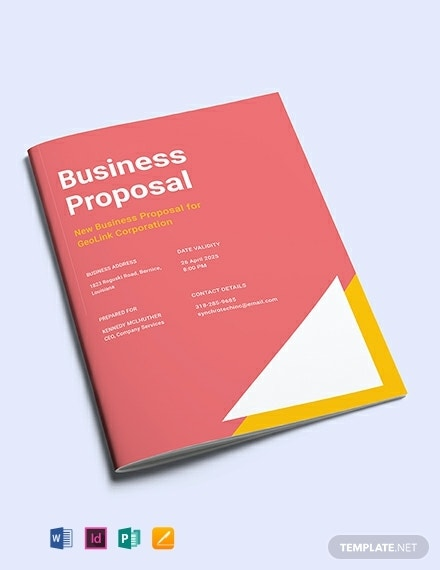 new small business proposal template