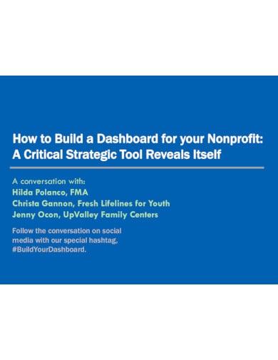 nonprofit presentation format template