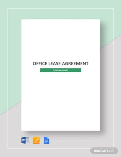 office tenant agreement template