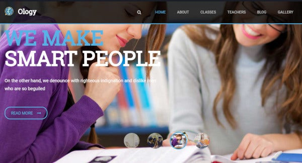 10  Best Education Consultancy Wordpress Themes