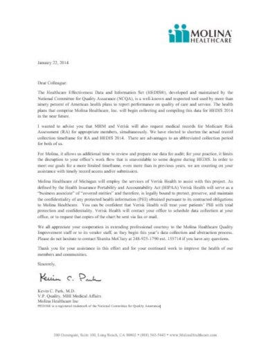 one page medical letterhead template