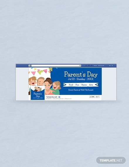 parents day facebook cover example
