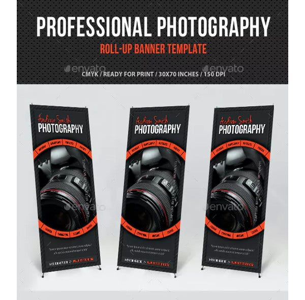 photography banner design template1