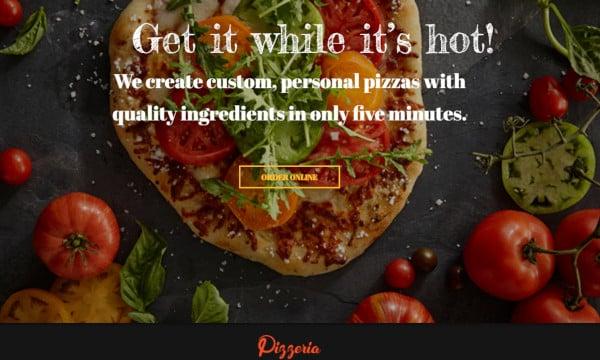 pizzeria – retina ready wordpress theme