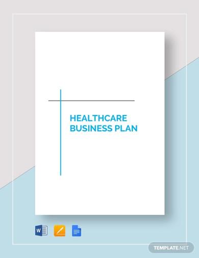 premium-healthcare-business-plan-template
