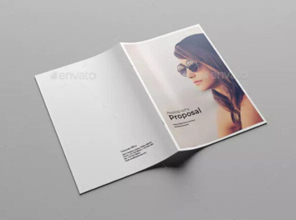 printable premium photography proposal templates
