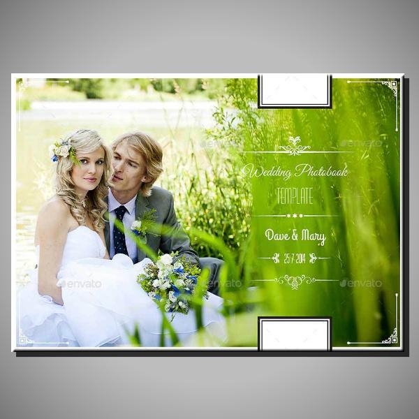 printable vintage wedding photobook example