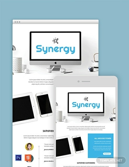 product email newsletter template