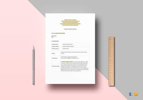 product-market-analysis-template
