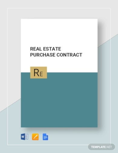professional estate purchase contract template