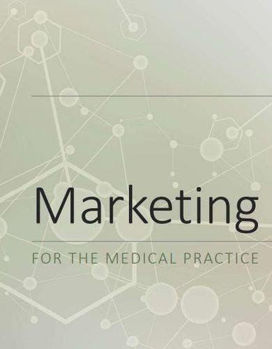 professional medical marketing strategy template