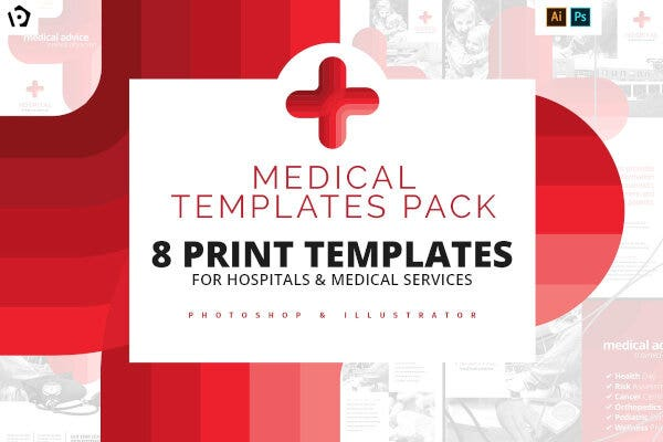 professional medical posters pack