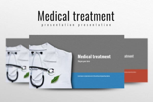 professional medical powerpoint template