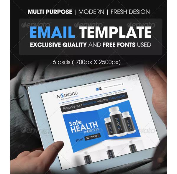 professional medicine e newsletter template1