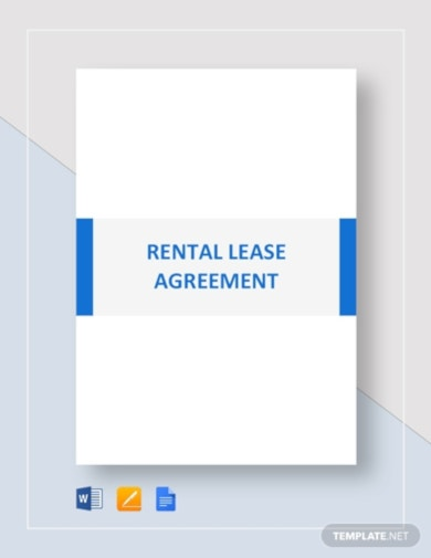 professional rental lease agreement template