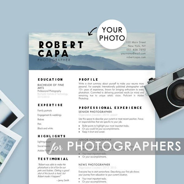 professional-resume-template-for-photographers