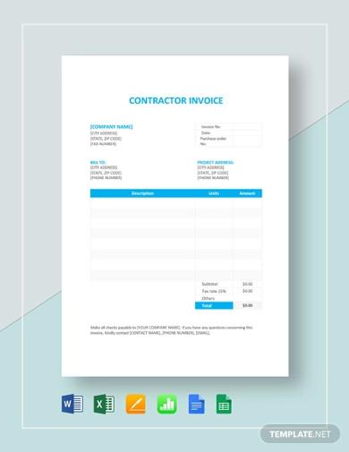 project-construction-estimate-template