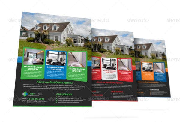 Property Real Estate Agency Flyer