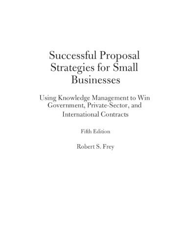 proposal strategy for small business